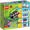Lego Duplo Koleje výhybky a přejezd 10506