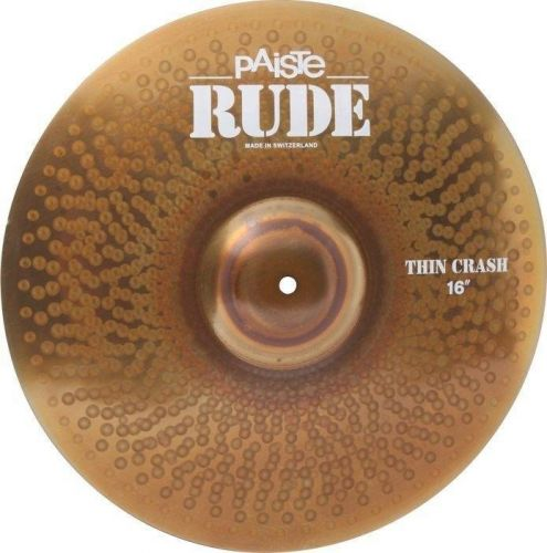 "PAISTE Rude, Thin Crash 16"""