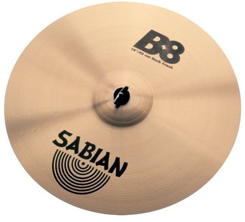 "SABIAN B8, Rock Crash 16"""