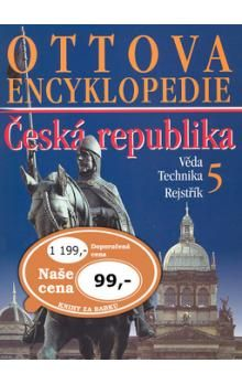 Ottova encyklopedie ČR 5.díl cena od 77 Kč