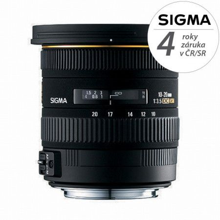 SIGMA zoom 10-20mm f/3,5 EX DC HSM