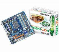 GIGABYTE GA-P55M-UD4 Socket 1156 Chipset P55 Micro ATX
