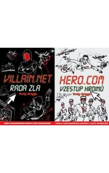 Andy Briggs: Hero.Com - Villain. Net: Vzestup hrdinů - Rada zla cena od 206 Kč