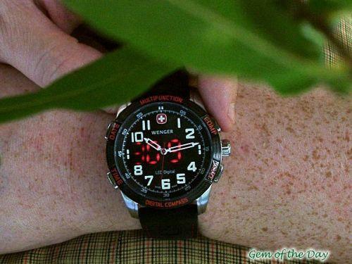 Wenger LED Nomad Digital Compass 70430