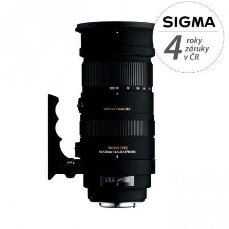 SIGMA 50-500mm f/4,5-6,3 APO DG HSM