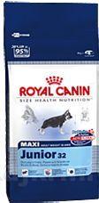 Royal Canin Maxi Junior 15 kg cena od 427 Kč