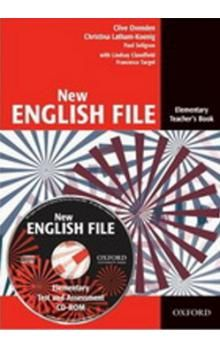 Clive Oxenden: New English File Elementary Teacher´s Book + Tests Resource CD-ROM cena od 609 Kč