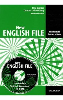 Clive Oxenden: New English File Intermediate Teacher\'s Book cena od 574 Kč