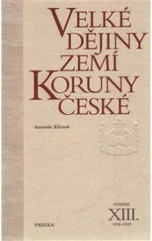 Antonín Klimek: Velké dějiny zemí Koruny české XIII. cena od 544 Kč