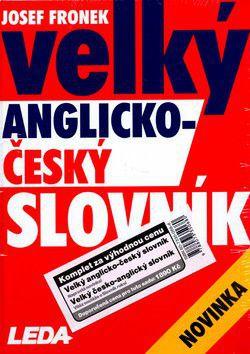 Josef Fronek: Velký česko-anglický a anglicko-český slovník cena od 1851 Kč