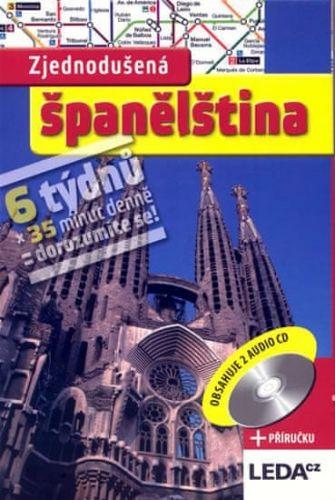 Kolektiv: Zjednodušená španělština + 2CD cena od 195 Kč