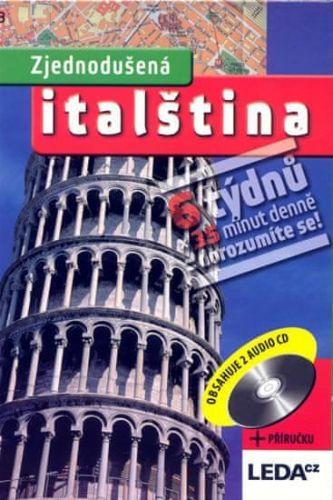 Kolektiv: Zjednodušená italština + 2CD cena od 195 Kč