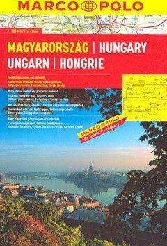 Maďarsko 1:300 000 cena od 180 Kč