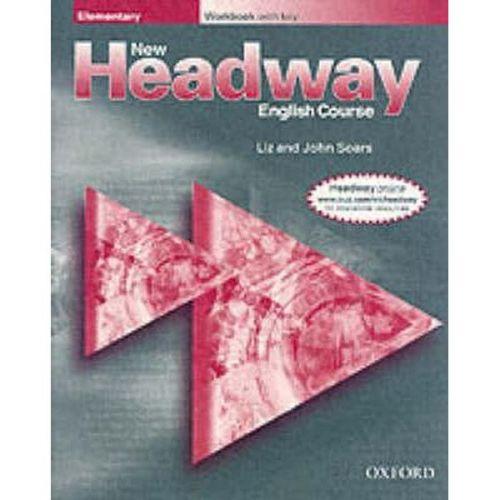 John Soars, Liz Soars: New Headway Elementary Workbook with key cena od 131 Kč