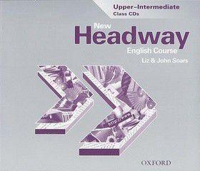 John a Liz Soars: New Headway Upper-Intermediate Class 3xCD
