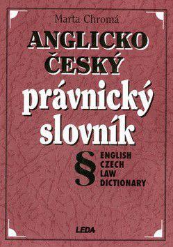 Marta Chromá: Anglicko český právnický slovník cena od 421 Kč