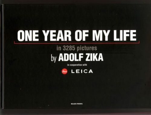XXL obrazek Adolf Zika: One Year Of My Life/Jeden rok mého života