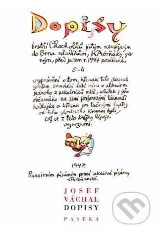 Josef Váchal: Dopisy cena od 314 Kč