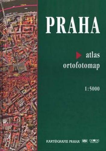 Praha atlas ortofotomap 1:5000 cena od 346 Kč
