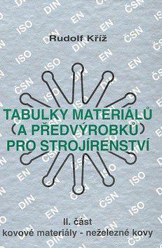 Tabulky materiálů a předvýrobků pro strojírenství II. část cena od 280 Kč