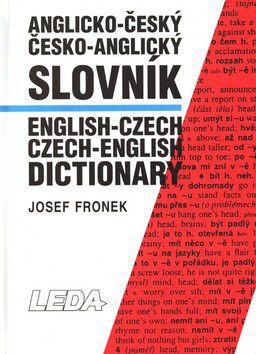 Josef Fronek: Anglicko-český česko-anglický slovník cena od 590 Kč