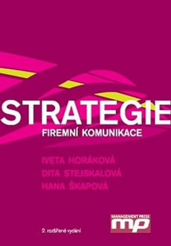 Iveta Horáková: Strategie firemní komunikace cena od 220 Kč