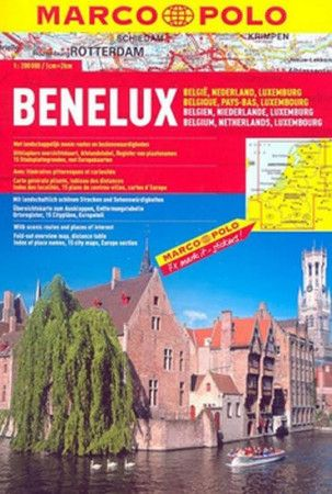 Benelux 1:300 000 cena od 176 Kč