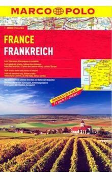 Kolektiv: Francie/atlas spirála 1:300 000 cena od 275 Kč