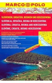 Slowenien, Kroatien, Bosnien und Herzegowina 1:300 000 cena od 180 Kč