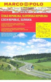 Česká republika, Slovenská republika 1:240 000 cena od 184 Kč