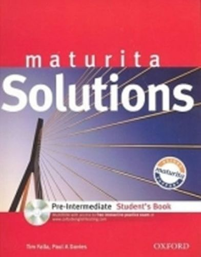 Paul A. Davies, Tim Falla: Maturita Solutions - Pre-Intermediate Student\'s Book