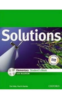 Tim Falla: Maturita Solutions Elementary Student´s Book with MultiROM Pack CZ