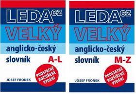 Josef Fronek: Velký anglicko-český slovník cena od 850 Kč