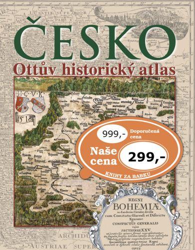 Česko Ottův historický atlas cena od 317 Kč