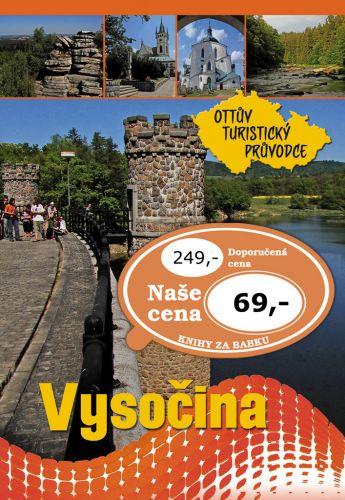 Ivo Paulík: Vysočina Ottův turistický průvodce cena od 52 Kč