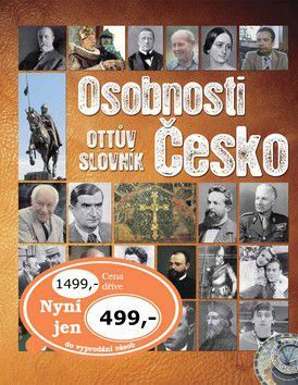 Osobnosti Česko Ottův slovník cena od 269 Kč