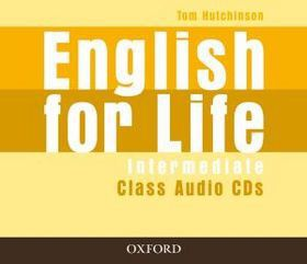 Tom Hutchinson: English for Life Intermediate Class Audio CDs