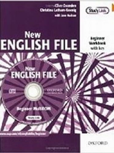 Clive Oxenden: New English File Beginner Workbook with key + CD-ROM cena od 163 Kč