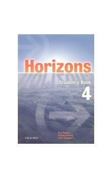Paul Radley: Horizons 4 Student´s Book + CD ROM cena od 355 Kč