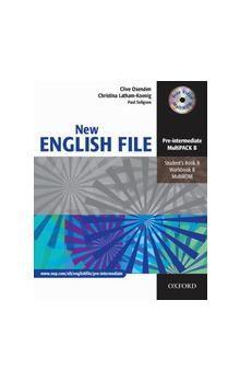 Oxenden Clive, Latham-Koenig Christina: New English File Pre Intermediate MultiPack B cena od 298 Kč