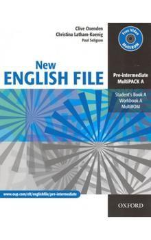 Clive Oxenden: New English File Intermediate MultiPack A cena od 324 Kč