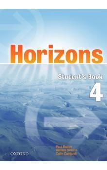 Paul Radley: Horizons 4 Student´s Book cena od 297 Kč