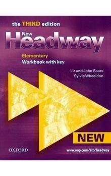 John Soars: New Headway Third Edition Elementary Workbook with Key cena od 215 Kč