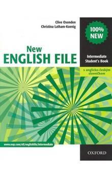 Clive Oxenden: New English file elementary Studenťs Book s anglicko-českým slovníčkem cena od 413 Kč