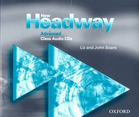 John a Liz Soars: New Headway Advanced Class 3xCD