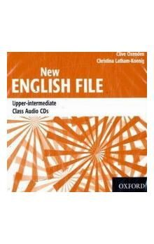 Kolektiv autorů: New English File Upper-Intermediate Class Audio CD\'s