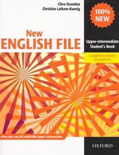 Clive Oxenden: New English File Upper-intermediate Student´s Book + czech wordlist cena od 407 Kč