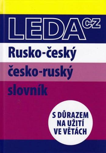 Marie Csiriková, Nataša Koníčková: Rusko-český a česko-ruský slovník s důrazem na užití ve větách cena od 391 Kč