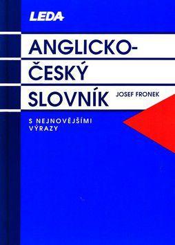 Josef Fronek: Anglicko-český slovník cena od 730 Kč