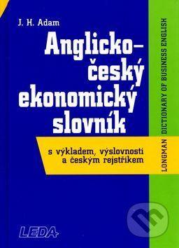 Adam J.H.: Anglicko-český ekonomický slovník cena od 287 Kč